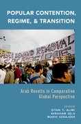 Cover for Popular Contention, Regime, and Transition - 9780190203573