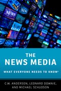 Cover for The News Media - 9780190206208