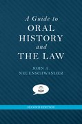Cover for A Guide to Oral History and the Law