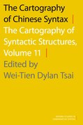 Cover for The Cartography of Chinese Syntax