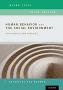 Cover for Human Behavior and the Social Environment, Micro Level - 9780190211097