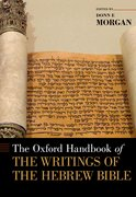 Cover for The Oxford Handbook of the Writings of the Hebrew Bible