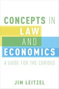 Cover for Concepts in Law and Economics