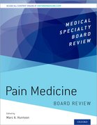 Cover for Pain Medicine Board Review - 9780190217518