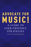 Cover for Advocate for Music!