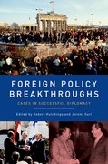 Cover for Foreign Policy Breakthroughs