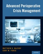 Cover for Advanced Perioperative Crisis Management