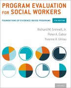 Cover for Program Evaluation for Social Workers