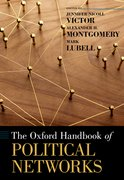 Cover for The Oxford Handbook of Political Networks