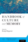 Cover for Handbook of Culture and Memory