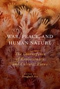 Cover for War, Peace, and Human Nature