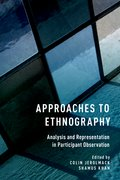 Cover for Approaches to Ethnography - 9780190236045