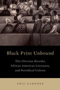 Cover for Black Print Unbound