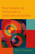 Cover for Peace Formation and Political Order in Conflict Affected Societies