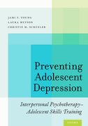 Cover for Preventing Adolescent Depression