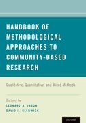 Cover for Handbook of Methodological Approaches to Community-Based Research