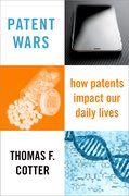 Cover for Patent Wars - 9780190244439