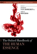 Cover for The Oxford Handbook of the Human Essence