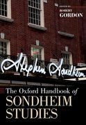 Cover for The Oxford Handbook of Sondheim Studies