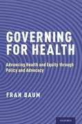 Cover for Governing for Health - 9780190258948