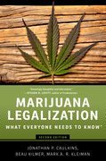 Cover for Marijuana Legalization - 9780190262402