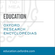 Cover for Oxford Research Encyclopedias: Education