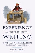Cover for Experience and Experimental Writing