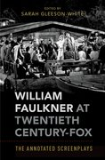 Cover for William Faulkner at Twentieth Century-Fox