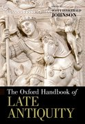 Cover for The Oxford Handbook of Late Antiquity