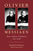 Cover for Olivier Messiaen