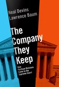 Cover for The Company They Keep - 9780190278052