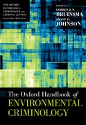 Cover for The Oxford Handbook of Environmental Criminology