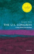 Cover for The U.S. Congress: A Very Short Introduction