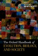 Cover for Oxford Handbook of Evolution, Biology, and Society