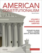 Cover for American Constitutionalism