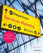 Cover for Services Marketing