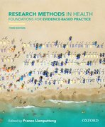 Cover for Research Methods in Health - 9780190304300