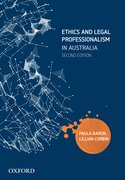 Cover for Ethics and Legal Professionalism in Australia