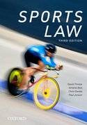 Cover for Sports Law