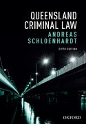 Cover for Queensland Criminal Law