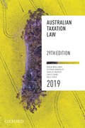 Cover for Australian Taxation Law 2019