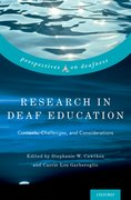 Cover for Research in Deaf Education - 9780190455651