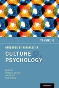 Cover for Handbook of Advances in Culture and Psychology, Volume 6