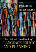 Cover for The Oxford Handbook of Language Policy and Planning