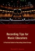 Cover for Recording Tips for Music Educators - 9780190465230