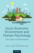 Cover for Socio-Economic Environment and Human Psychology - 9780190492908