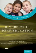 Cover for Diversity in Deaf Education