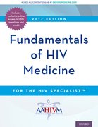 Cover for Fundamentals of HIV Medicine - 9780190493097