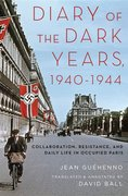 Cover for Diary of the Dark Years, 1940-1944