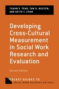 Cover for Developing Cross-Cultural Measurement in Social Work Research and Evaluation